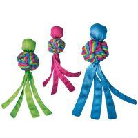 Kong guma Wubba Weaves Pískací hračka s třásněmi vhodná pro aport
