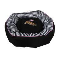 Snoozzzeee Candy Stripe Donut pelech růžový lem, 71 cm