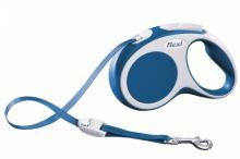 Vodítko FLEXI VARIO Pásek M 5m/25kg Modrá 1ks