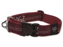 Obojek pro psa nylonový - Rogz Fancy Dress Red Heart - 4 x 50 - 80 cm