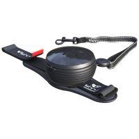 Vodítko pro psa hands-free Lishinu - černé - do 30 kg