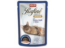 Animonda Rafine Soupe Senior Kapsička - kuře & telecí & sýr pro kočky od 7 let 100 g