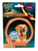 Trixie obojek Light Band blikající - velikost XS, 25cm