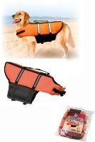 Vesta plavací Dog oranžová
