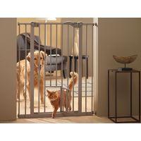 Dog Barrier Zábrana dveřní vnitřní s integrovanými dvířky - výška 107 cm