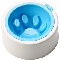 Fellipet Kaleido Good Manners miska proti hltání pro malé a střední psy - Aqua 355 ml