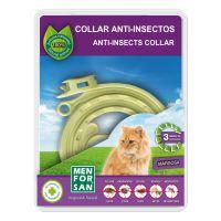 Menforsan Přírodní antiparazitní obojek pro kočky odpuzující klíšťata a blechy 30 cm + 1 ZDARMA
