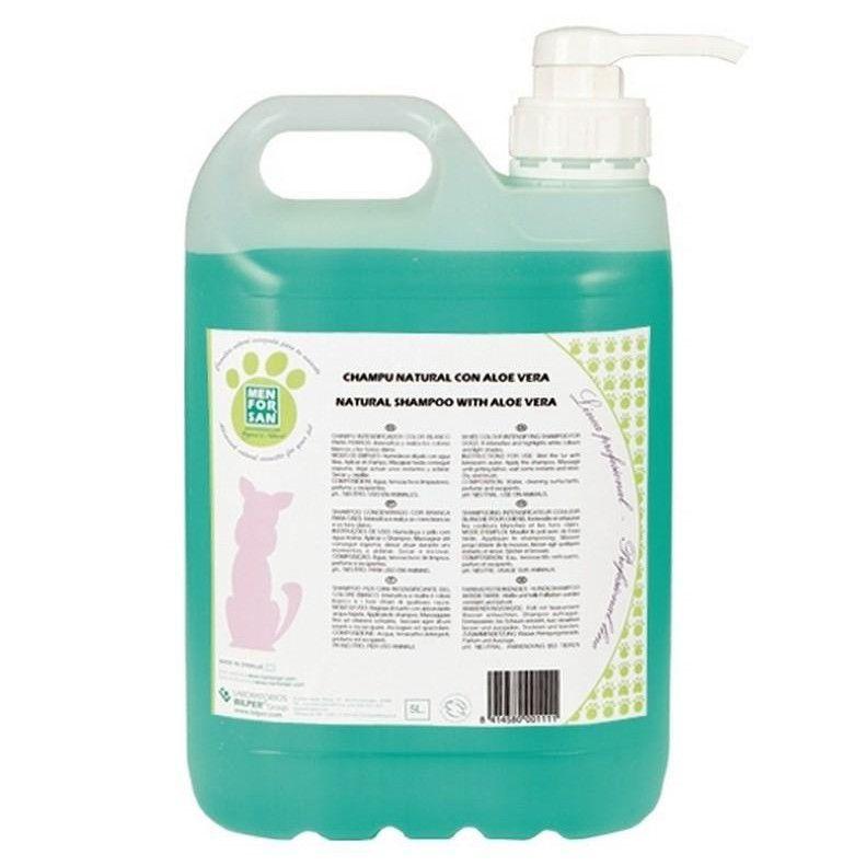 Menforsan Zklidňující šampon pro psy s Aloe Vera 5000 ml