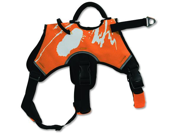 Zolux Tažný postroj pro psy oranžový - L
