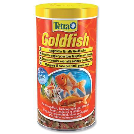 Tetra Goldfish vločkové krmivo pro zlaté rybky 1 l