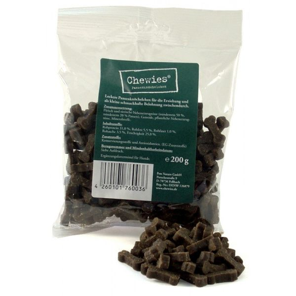 Chewies sušené kostičky s dršťkami pro psy 200 g