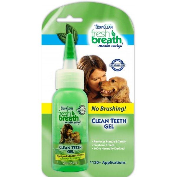 Tropiclean Clean Teeth Gel - gel na zuby pro psy 59 ml