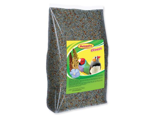 Krmivo AVICENTRA standart pro drobné exoty 1 kg