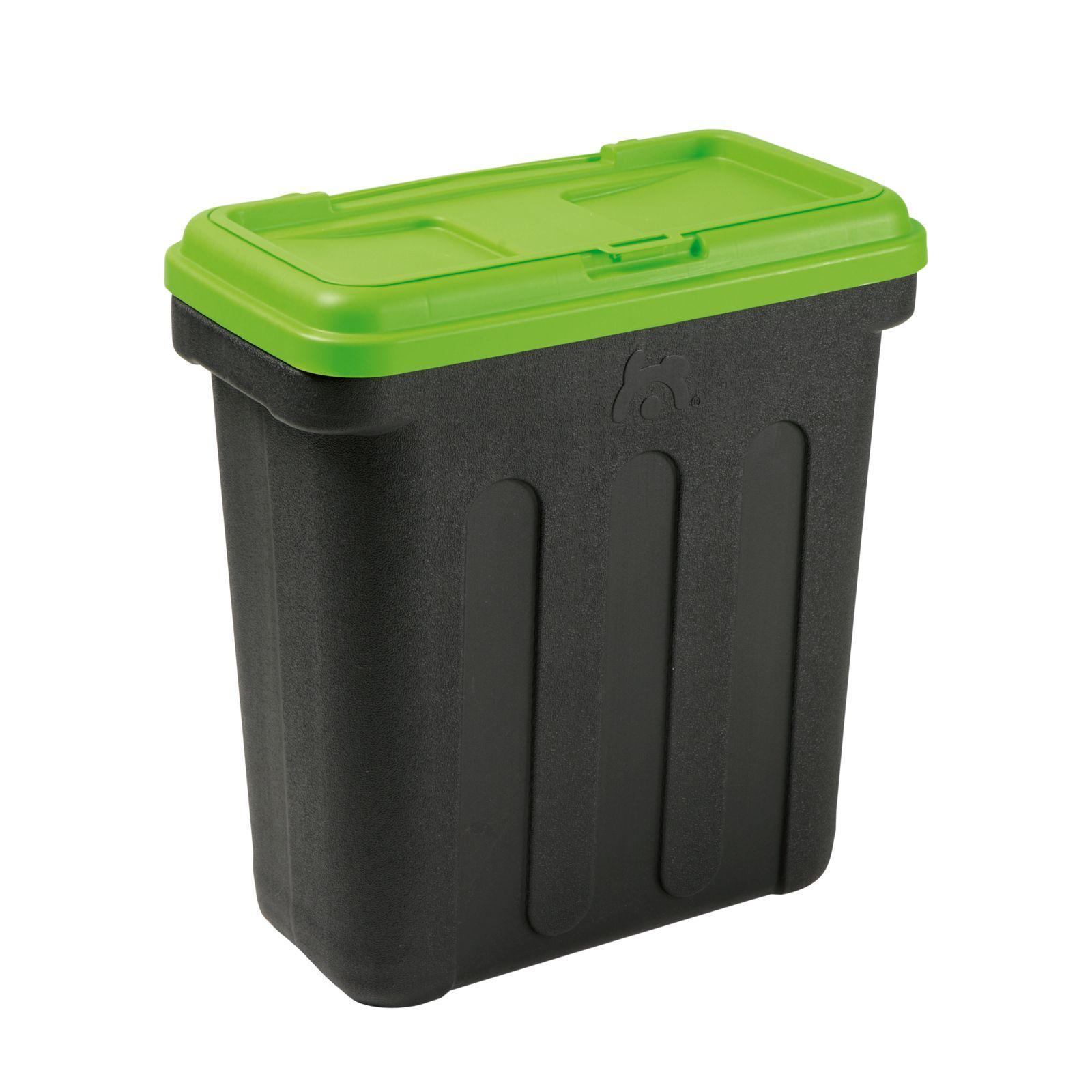 Maelson box na granule - černá / zelená - 54 x 31 x 58 cm