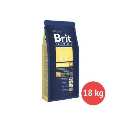 Brit Premium Junior M 15 kg + 3 kg ZDARMA