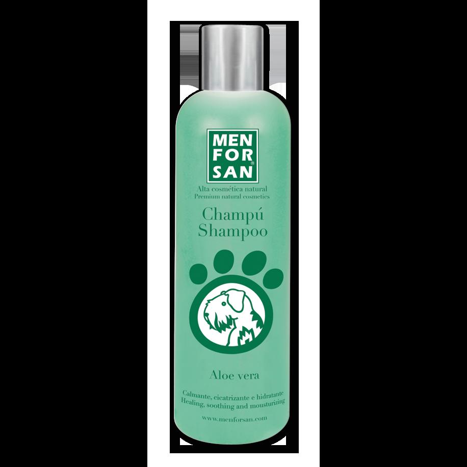 Menforsan zklidňující šampon pro psy s Aloe Vera 300 ml