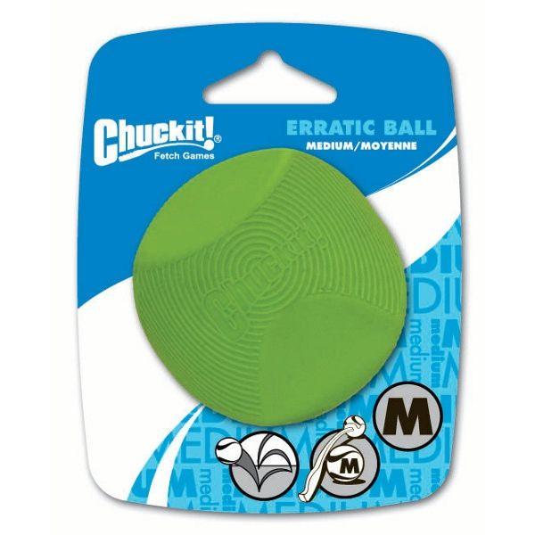 Chuckit! Erratic nevypočitatelný míček - M, 6,5 cm