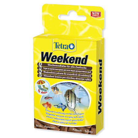 Tetra Min Weekend Futter mini krmné proce pro ryby 20 ks