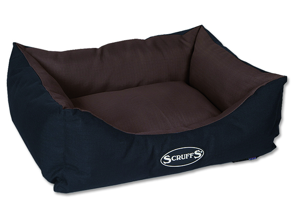 Scruffs Expedition Box Bed Pelech čokoládový - S, 50x40 cm