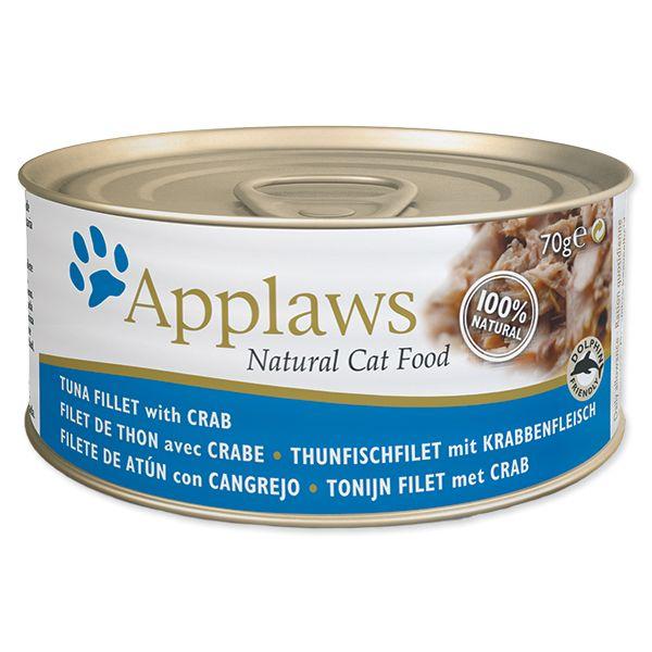 Konzerva APPLAWS Cat Tuna & Crab 70 g