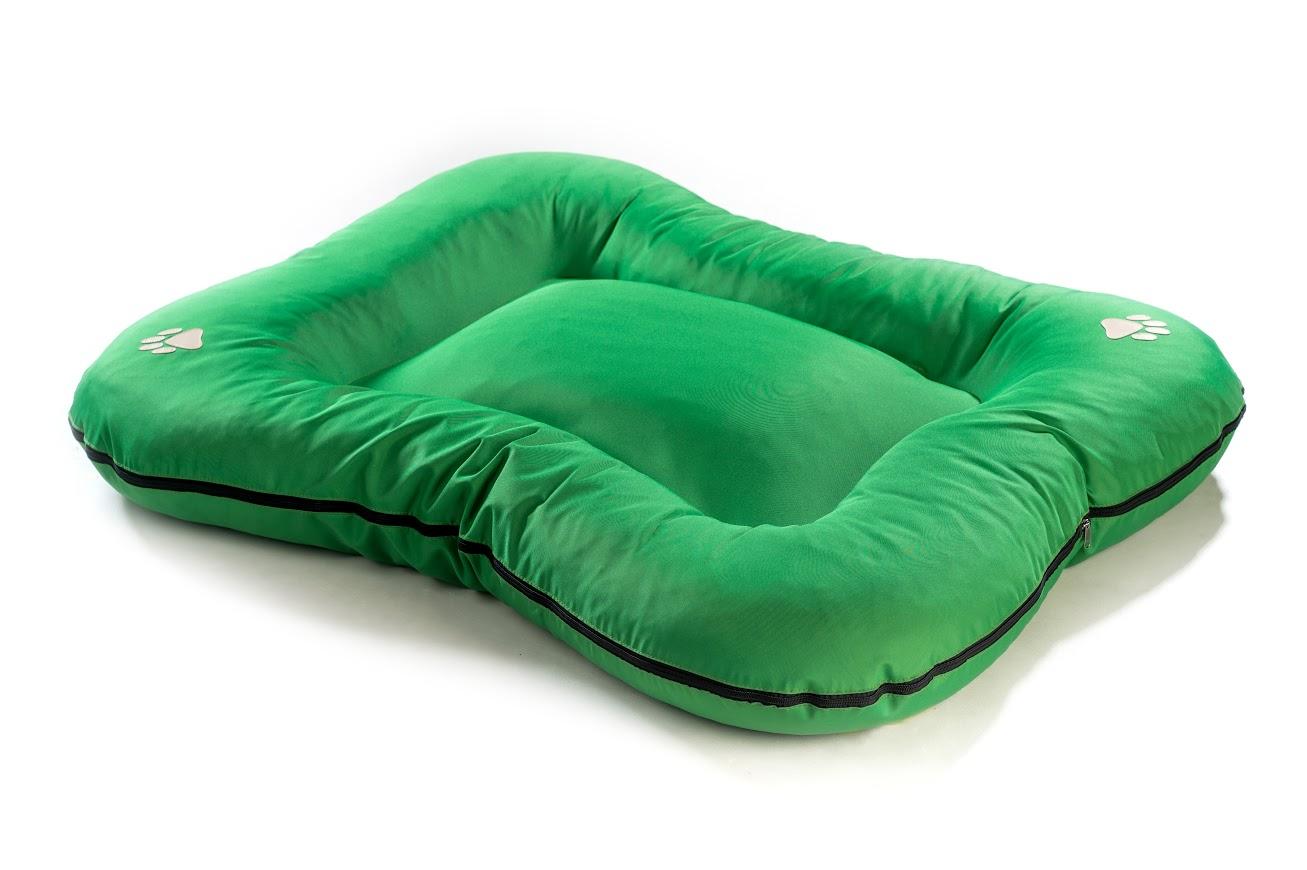 Matrace pro psa Argi z polyesteru - zelená - 130 x 110 cm