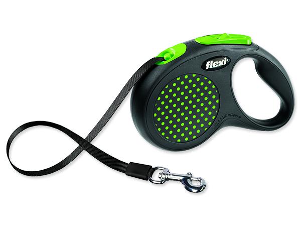 Vodítko FLEXI Design 5m/50 kg zelená