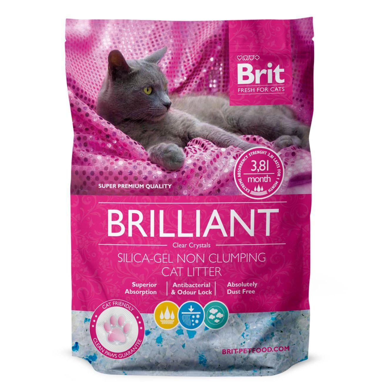 Brit Care Brilliant Silica-gel silikátová podestýlka