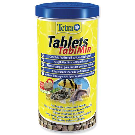 Tetra TabiMin krmivo pro ryby žijící u dna 1040 tablet
