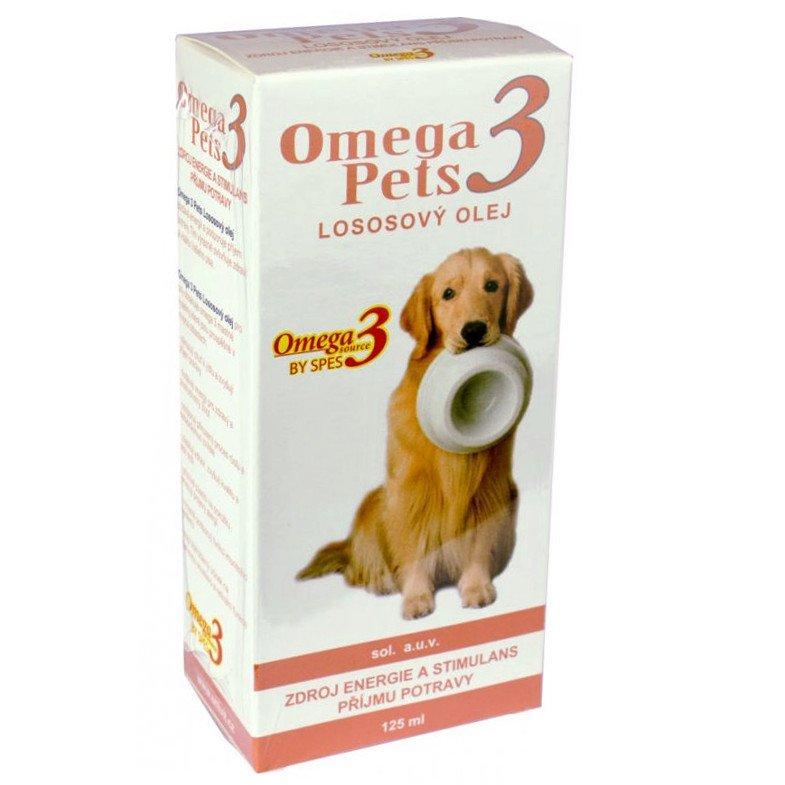 Omega3 Pets Lososový olej - pro kvalitní srst psů 125 ml