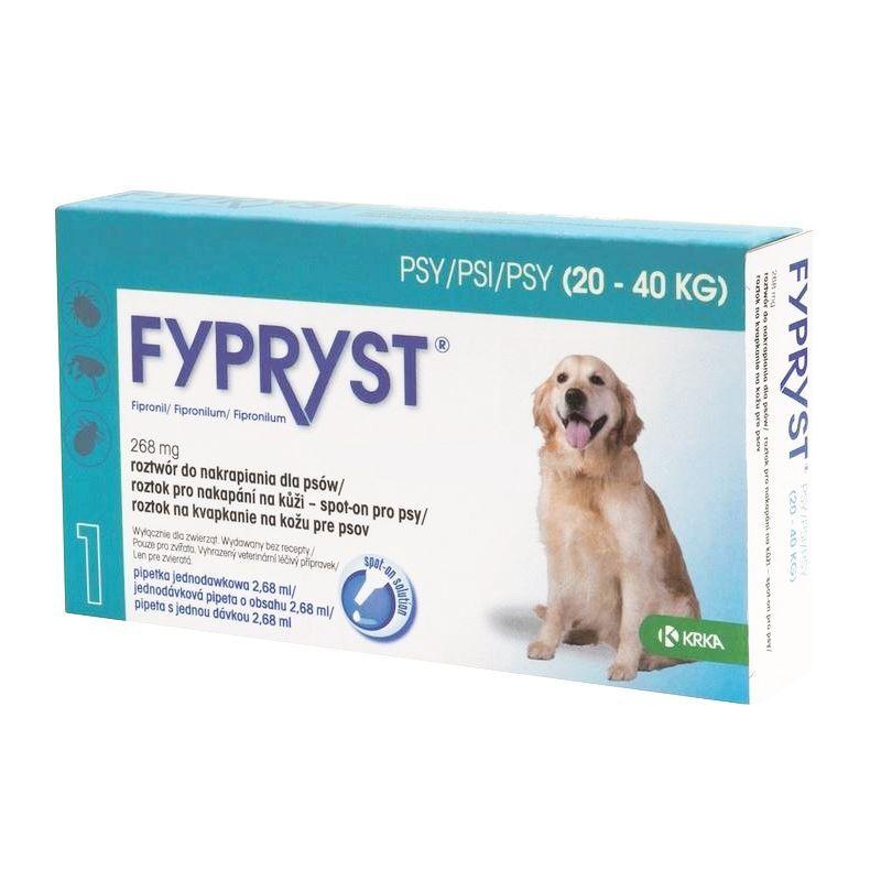 Fypryst Antiparazitní pipeta pro psy 20-40 kg, 2,68 ml