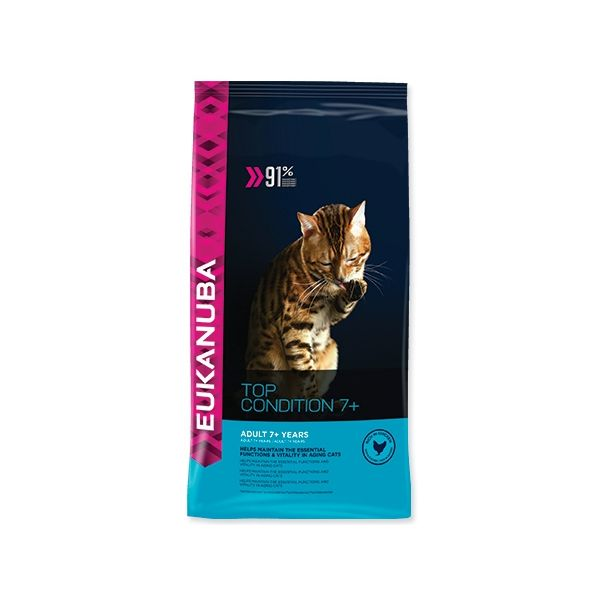 EUKANUBA Cat Adult Top Condition 7+ 2 kg