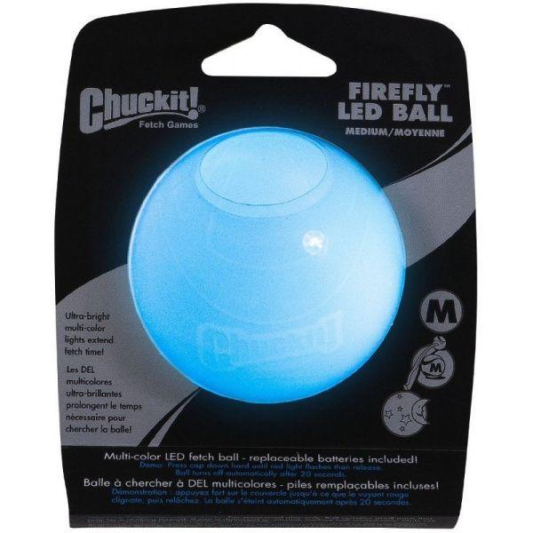 Chuckit! Firefly led míček svítící - M, 6,5 cm