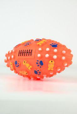 Hračka Pes Vinyl Míč Rugby Ball 13,5cm 1ks, Lill