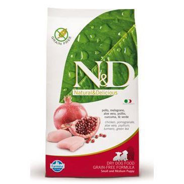 N&D Grain Free Dog Puppy S/M Chicken & Pomegranate 2,5 kg