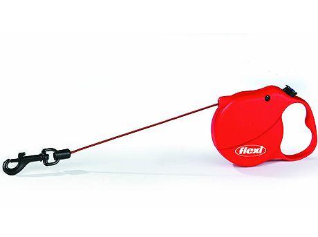 Flexi Mini 3 samonavíjecí vodítko červené, 3m/8kg