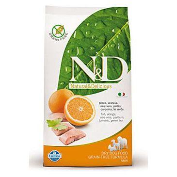 N&D Grain Free Dog Adult Fish & Orange 800 g