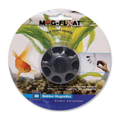 Bakker Magnetics stěrka magnetická pro oblá akvária průměr 5 cm