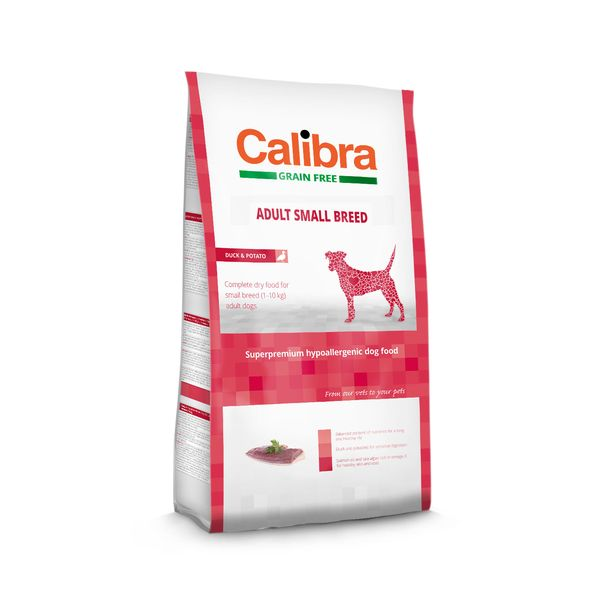 Calibra Dog GF Adult Small Breed Duck