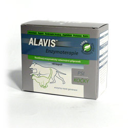 Alavis Enzymoterapie-Curenzym pro psy a kočky, 40 tablet