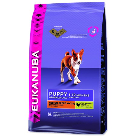Eukanuba Puppy & Junior Medium Breed