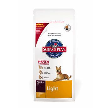 Hill's Science Plan Canine Dry Adult Light 12 kg