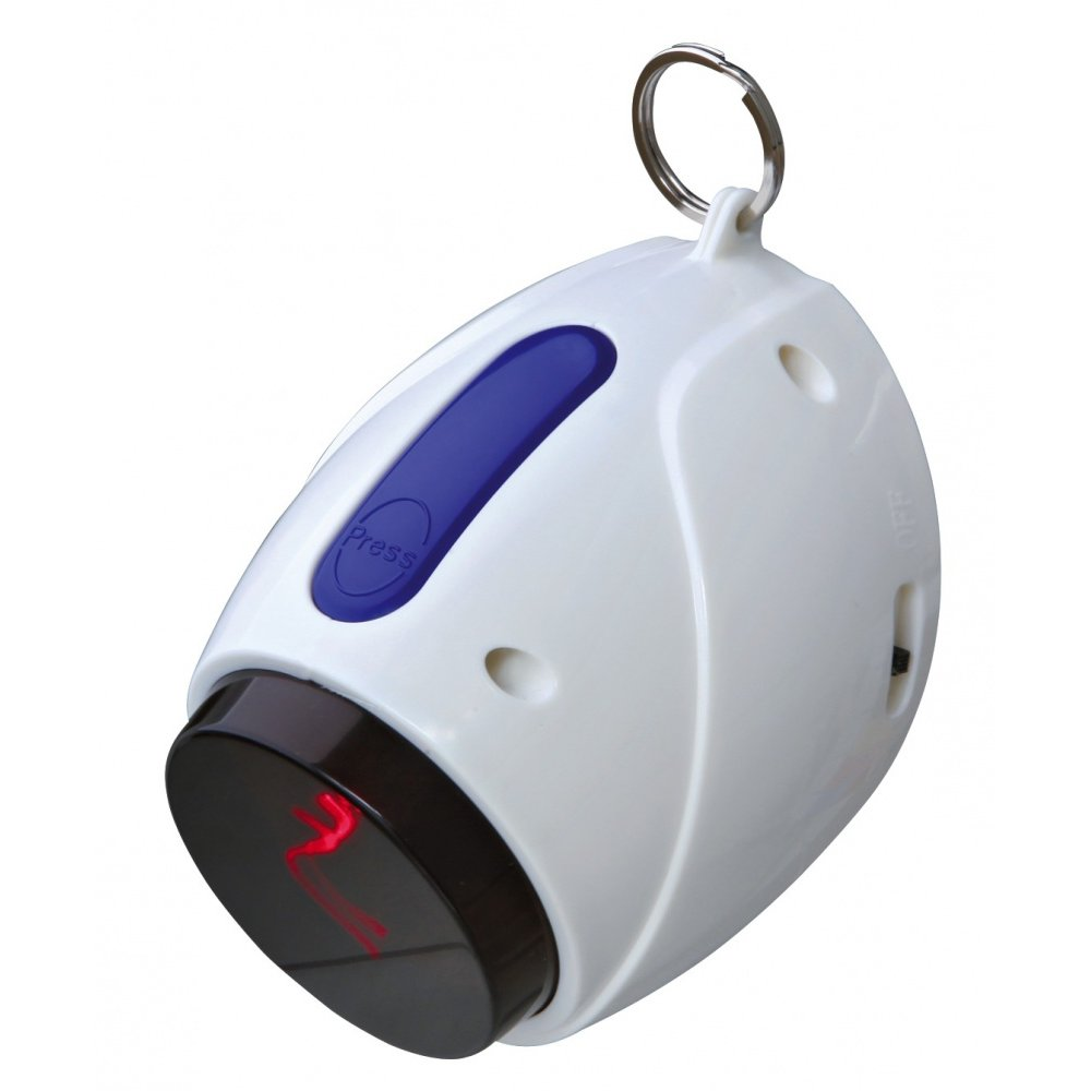Trixie Laserová hračka pro kočky bílo-modrá, 11 cm
