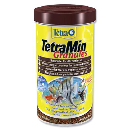 Tetra Min Granules jemně granulované krmivo pro ryby