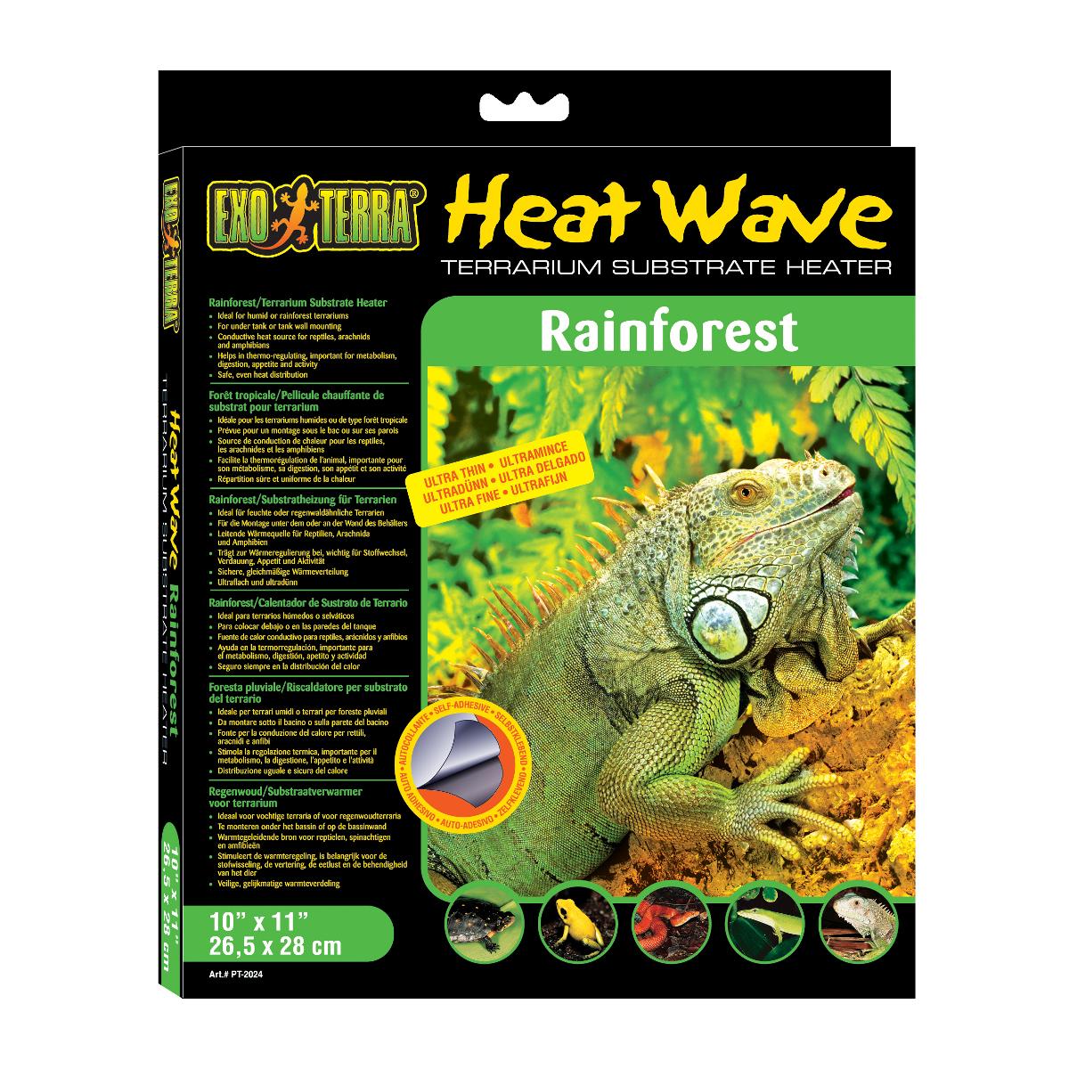 Deska topná EXO TERRA Heat Wave Rainforest střední 8 W