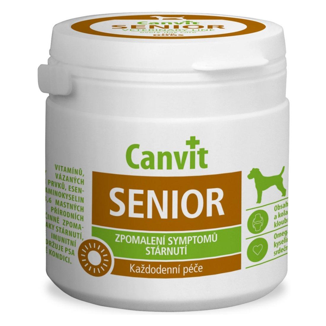 Canvit Senior - výživový doplněk pro psy nad 7 let