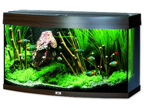 Juwel Vision 180 akvárium set tmavě hnědý 92x41x55 cm, objem 180 l