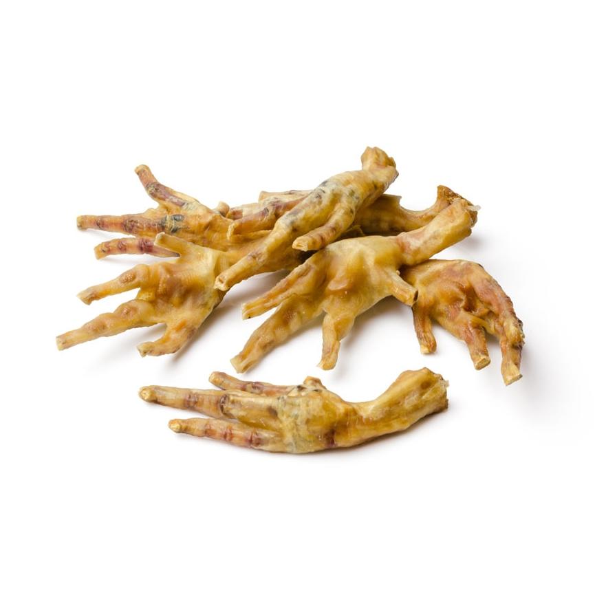 Drůbeží pařáty - sušené pamlsky pro psa Argi 1 ks