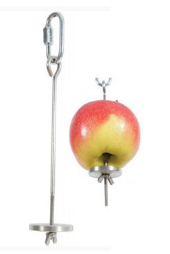 Držák na ovoce do klece kovový Zolux