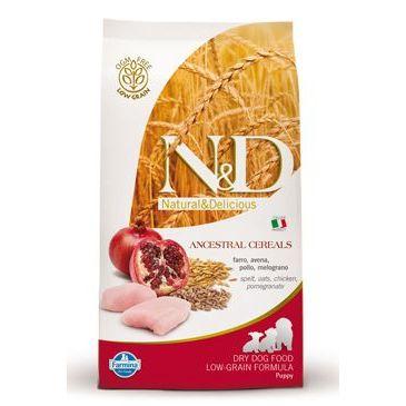 N&D Low Grain Dog Puppy Mini Chicken & Pomegranate 800 g