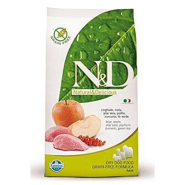 N&D Grain Free Dog Adult Mini Boar & Apple 800 g